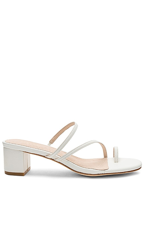RAYE Lucy Sandal in White