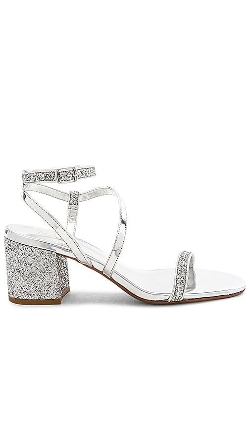 RAYE Gabby Sandal in Silver