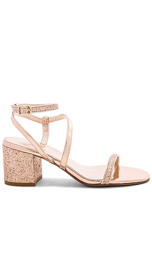 RAYE Gabby Sandal in Gold