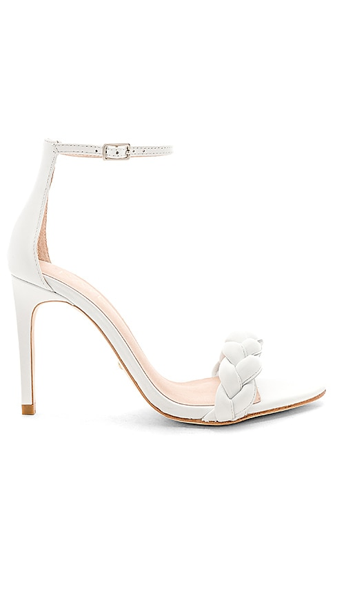 Marcello Heel in White. - size 7.5 (also in 10,5.5,6,6.5,7,8,8.5,9,9.5) Raye