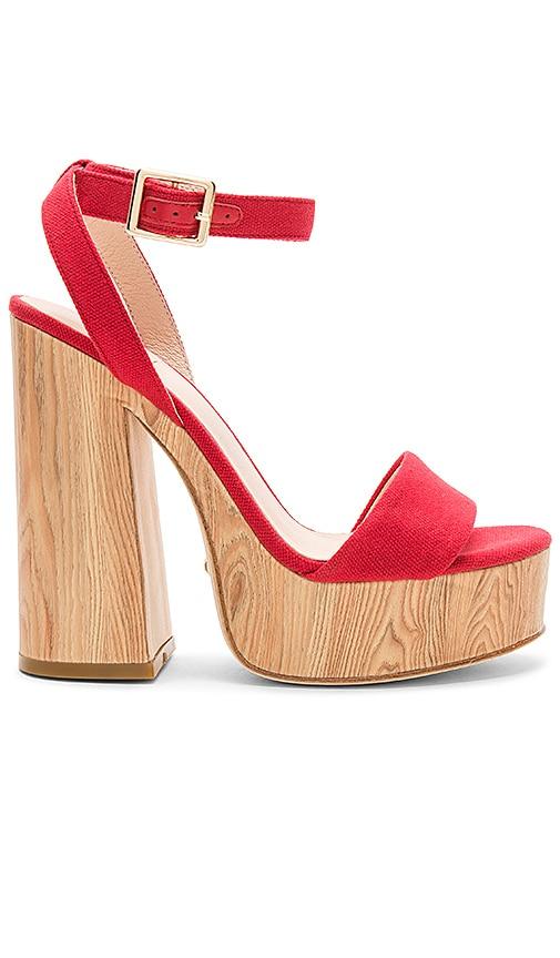 RAYE Shayla Heel in Red
