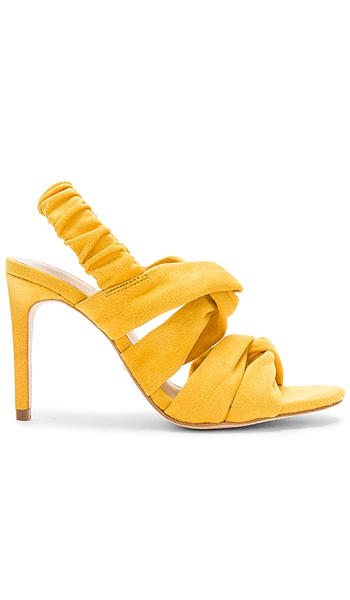 x House of Harlow 1960 Shenae Heel in Mustard. - size 7 (also in 10,5.5,6.5,8,8.5,9,9.5) Raye
