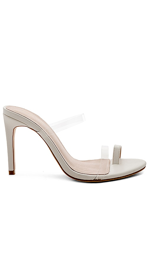 x STONE_COLD_FOX Cecile Heel in White. - size 5.5 (also in 10,6,6.5,7,7.5,8,8.5,9,9.5) Raye