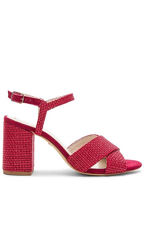 RAYE Dorado Sandal in Red