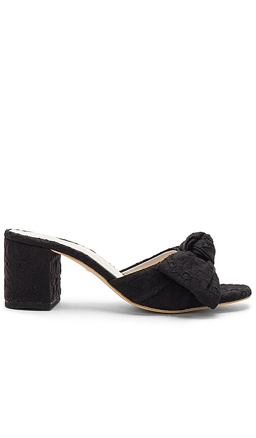 x STONE_COLD_FOX Carmine Calf Hair Sandal in Black. - size 7 (also in 5.5,6,6.5,7.5) Raye