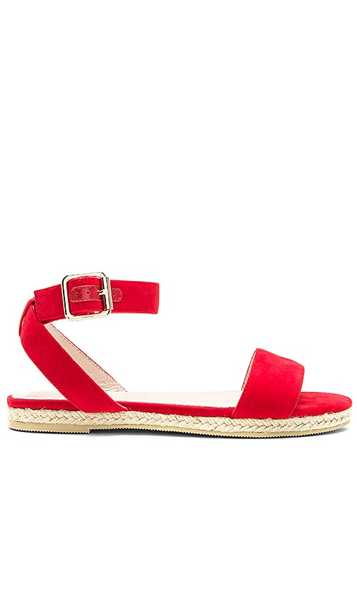 RAYE Liza Sandal in Red