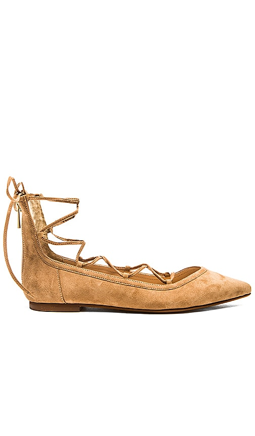 RAYE Pippa Flat in Tan