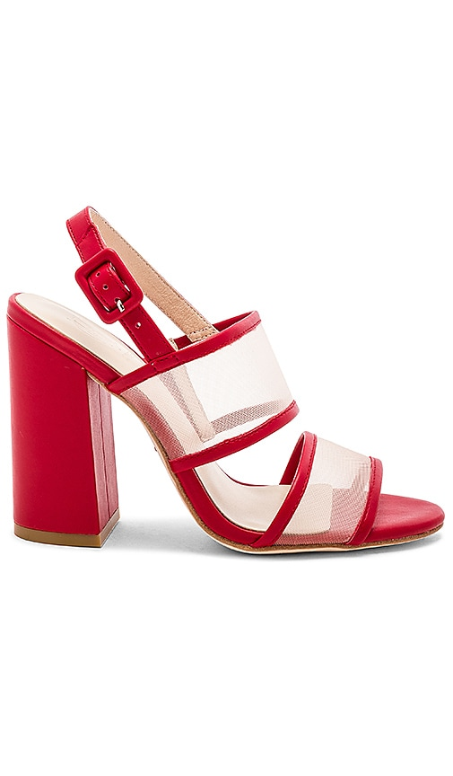 RAYE x House Of Harlow 1960 Sommers Heel in Red