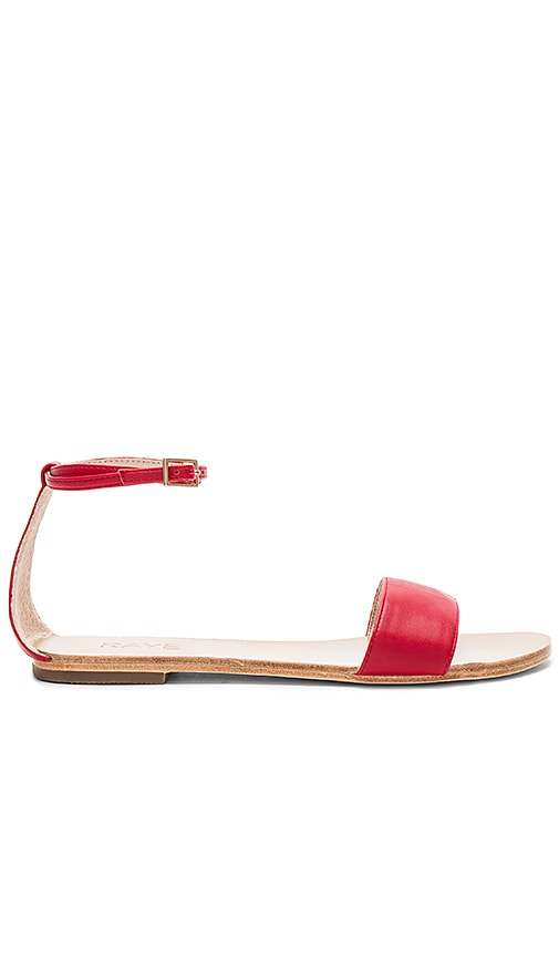 RAYE Sutton Sandal in Red