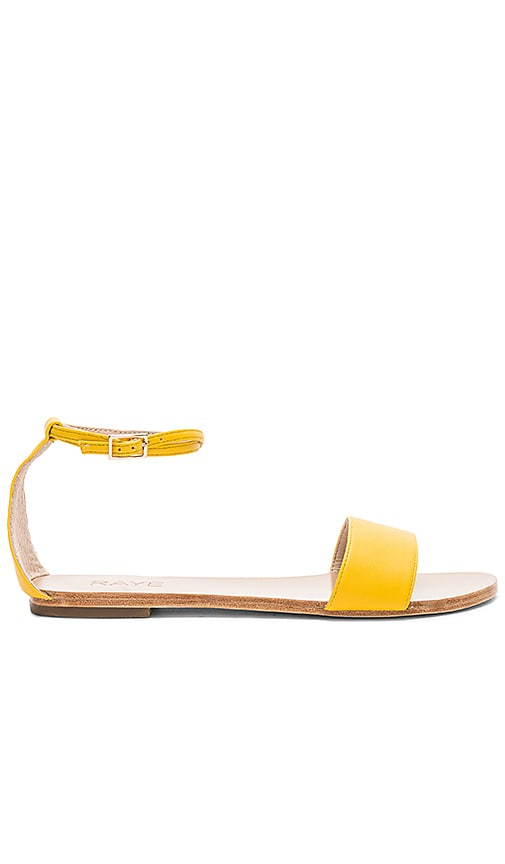 RAYE Sutton Sandal in Yellow