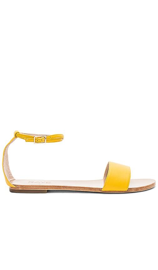 RAYE Sutton Sandal in Yellow