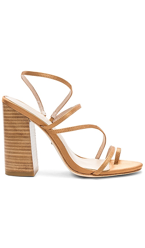 RAYE x House Of Harlow 1960 Ember Heel in Tan