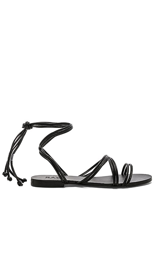 Chance Sandal In Black. Sandale Chance En Noir. - Size 5.5 (also In 6,7.5,8,9.5) Raye - Taille 5.5 (également 6,7.5,8,9.5) Raye