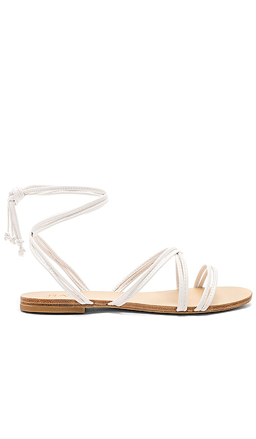 RAYE Chance Sandal in White