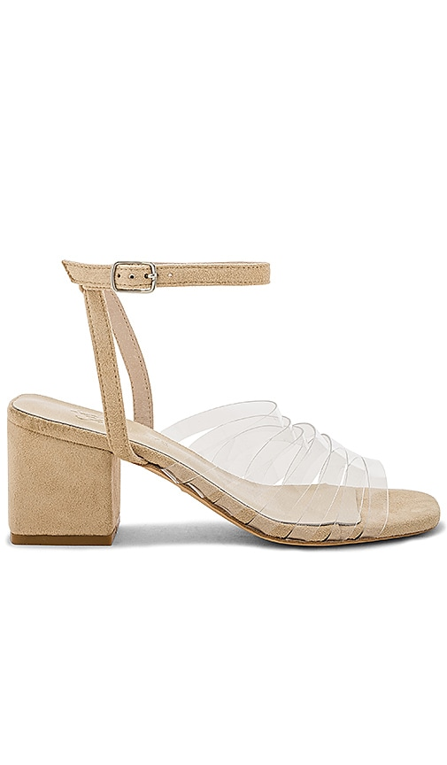 RAYE x Lovers + Friends Piper Sandal in Beige