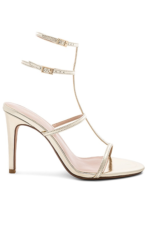 Beautiful Heel in Pale Gold