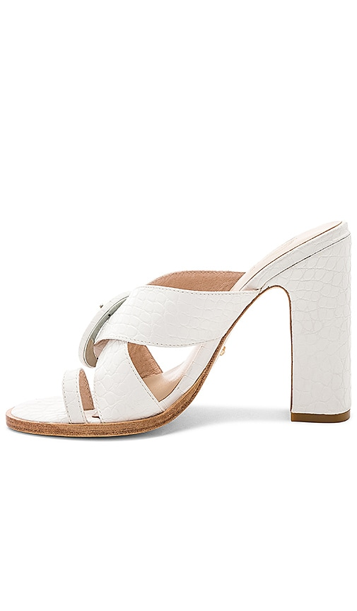 x House Of Harlow 1960 Hyland Mule in White. - size 6 (also in 10,5.5,6.5,7,7.5,8,8.5,9,9.5) Raye