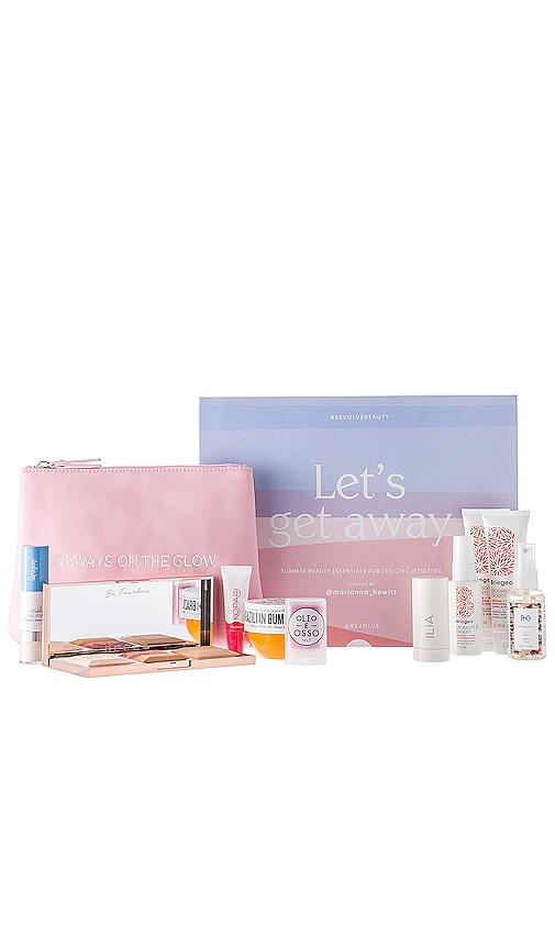 x Marianna Hewitt LET'S GET AWAY Beauty Box