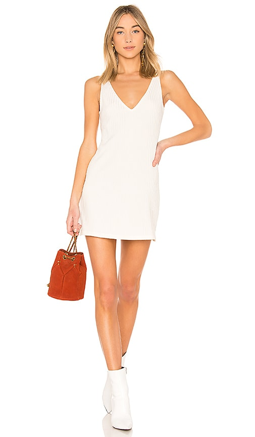 Rachel Comey Melt Tank Dress in White