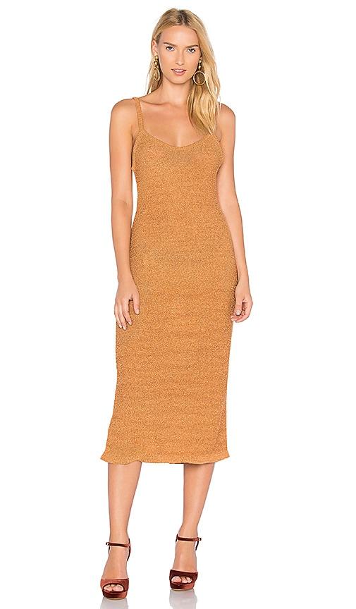 Rachel Comey Rile Dress in Rust