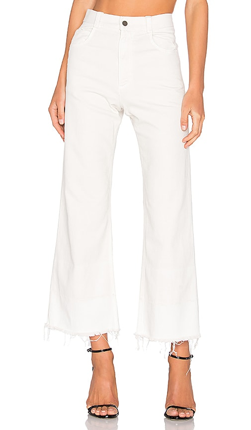 Rachel Comey Legion Pant in Dirty White