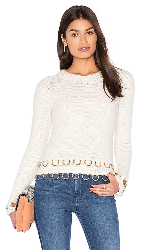 Rachel Comey Circuit Pullover in Ivory