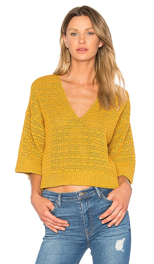 Rachel Comey Coloma Top in Mustard