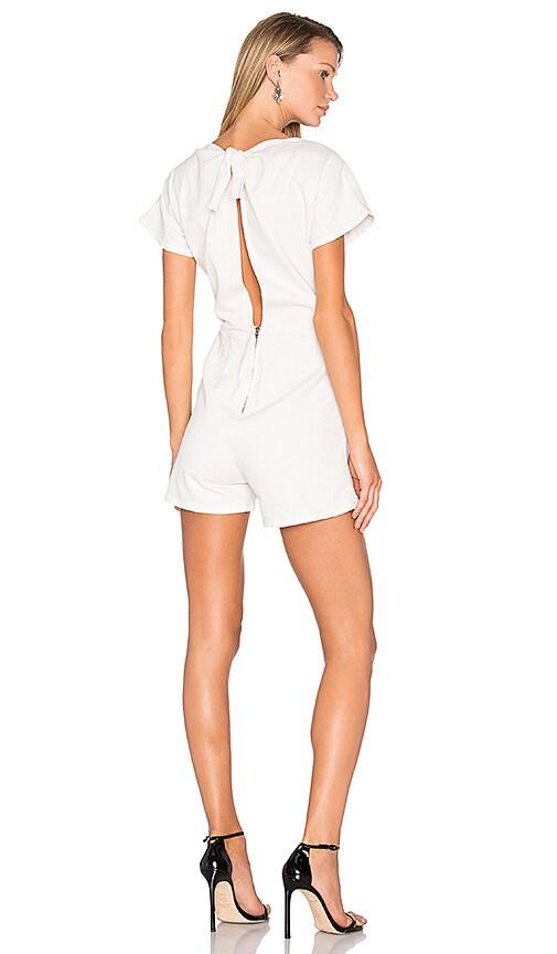 Rachel Comey Utila Romper in White