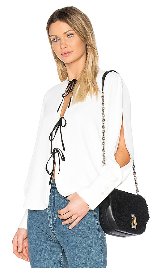 Rachel Comey Meryl Blouse in White