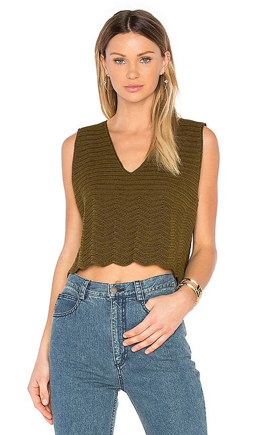 Rachel Comey Hewson Top in Green