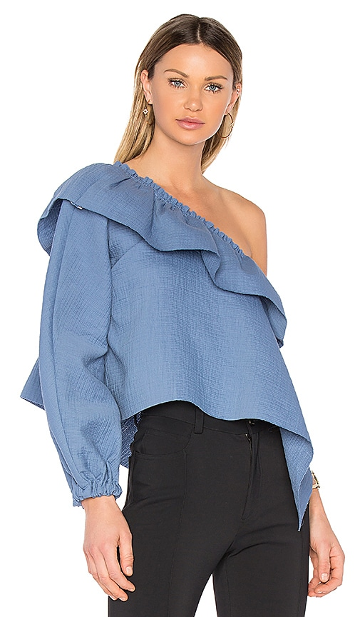 Rachel Comey Georgia Top in Blue