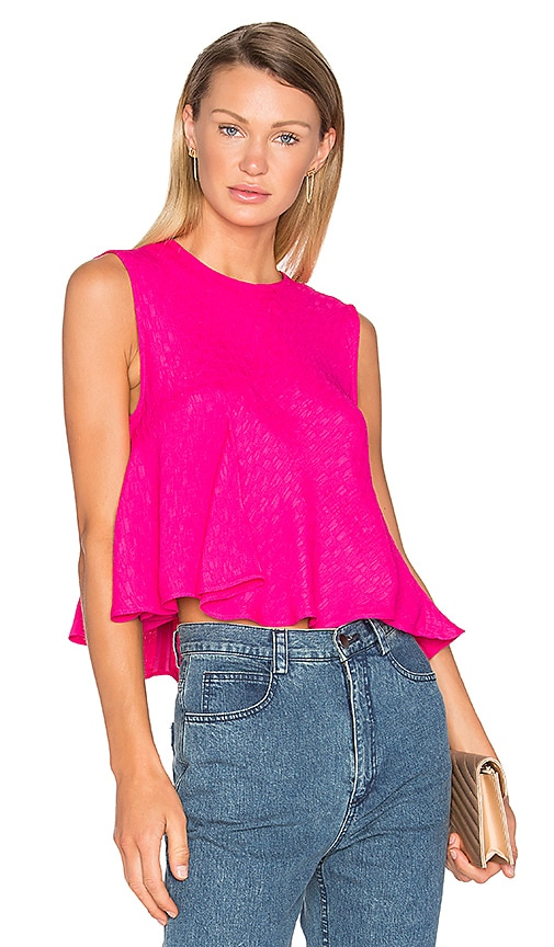Rachel Comey Lovell Top in Fuchsia