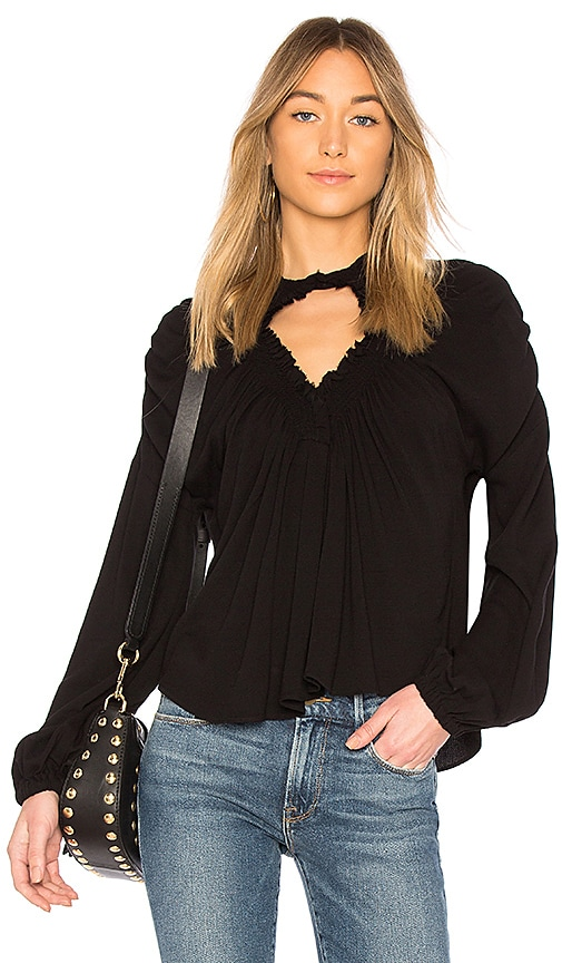Rachel Comey Siphon Top in Black
