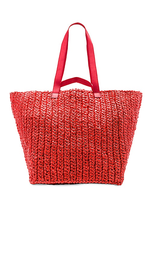 Rachel Comey Lotte XL Weekender Bag in Red