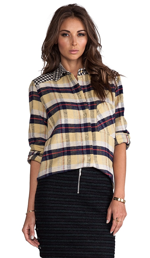 Young Thelma Plaid Button Down