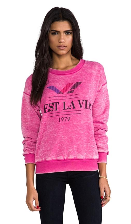C'est La Vie! 70's Sweatshirt