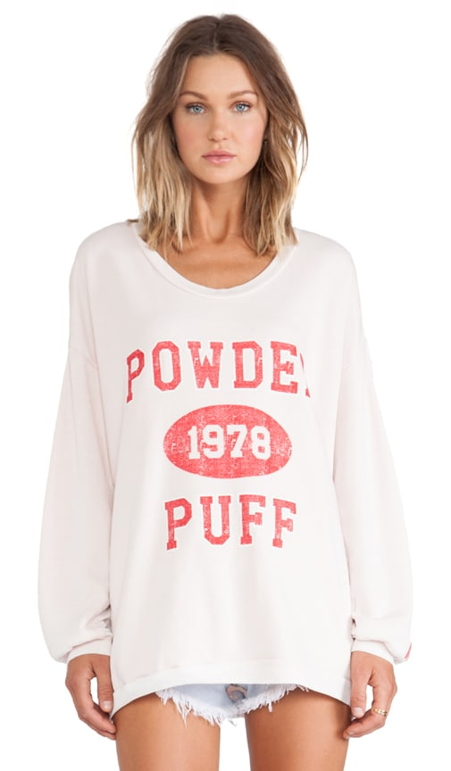 Powder Puff Strokes Warm Up Sweatshirt