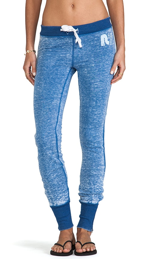 Skinny Zip Fleece Pants