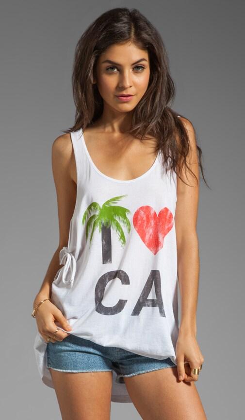 I Heart CA Tie Tank