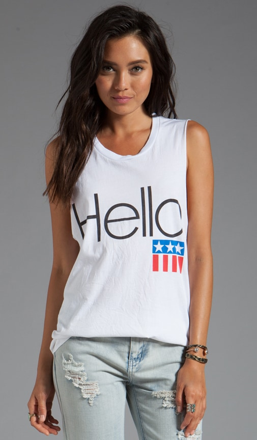 Hello Cut-Off Tank