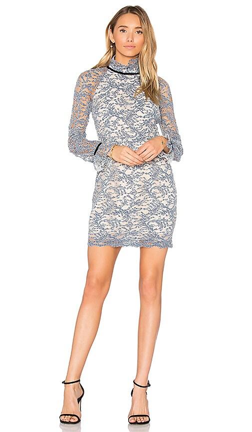 Rebecca Vallance Alexa Mini Dress in Blue
