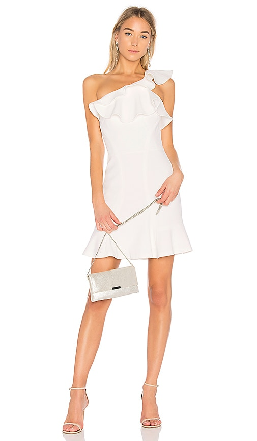 Rebecca Vallance St Barts Mini Dress in White