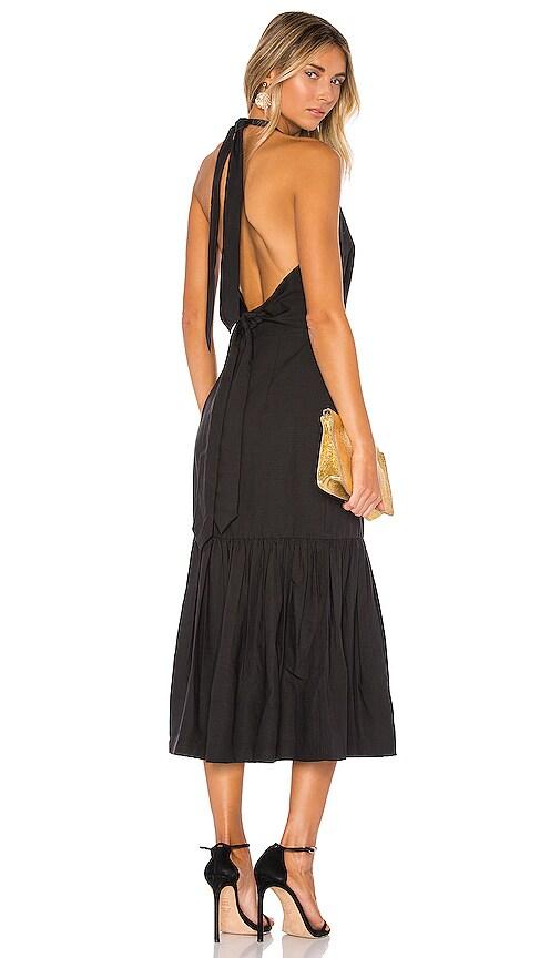 Holiday Halter Dress