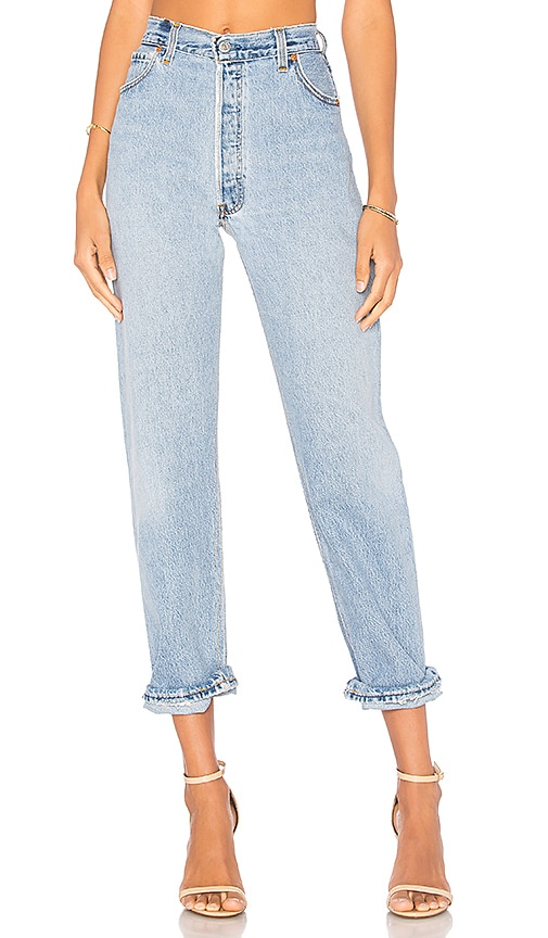 Re/done Denims ULTRA HIGH RISE STRAIGHT