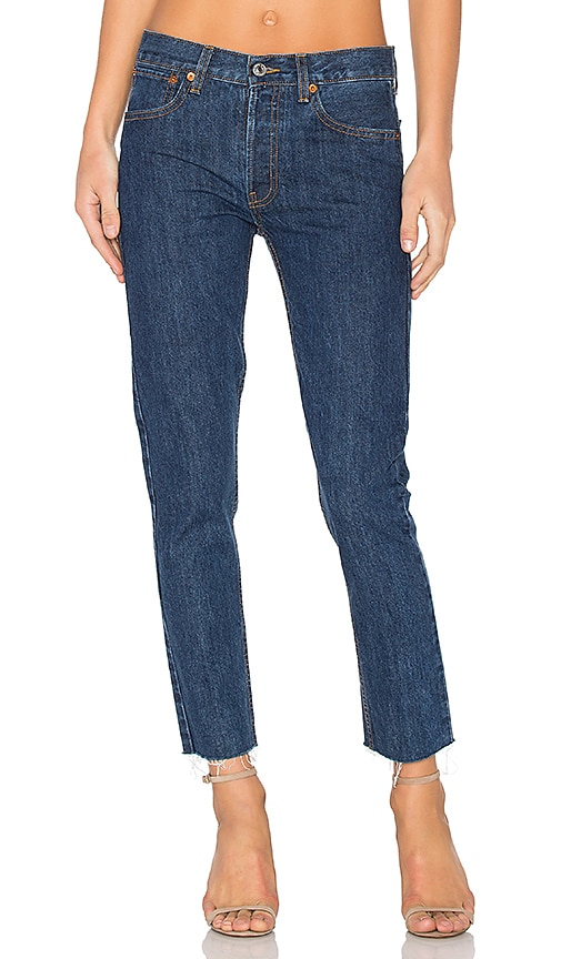 Cropped High-Rise Rigid Straight-Leg JeansRe/Done