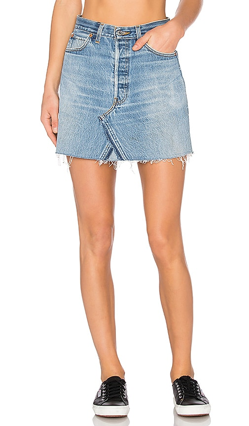 Levis High Waist Mini Skirt