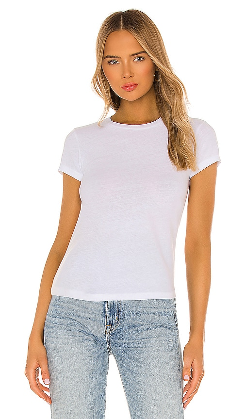 RE/DONE 1960's Slim Tee in White