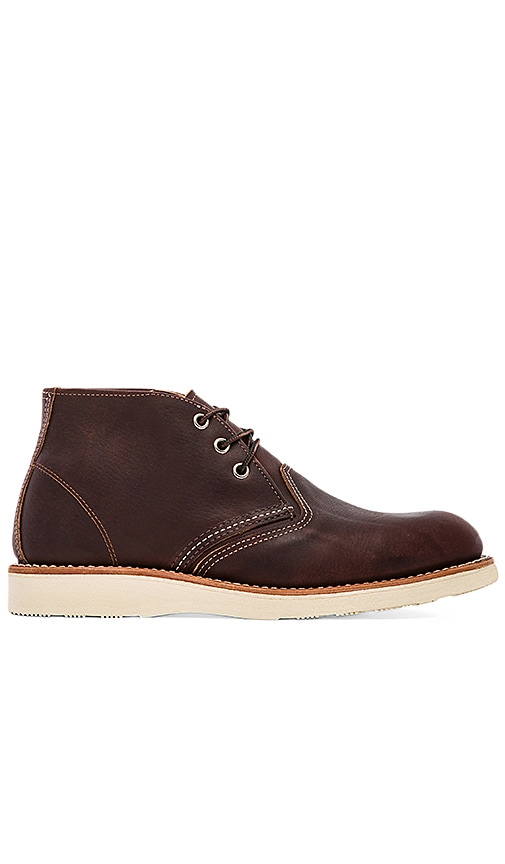Red Wing Shoes Work Chukka in Brown