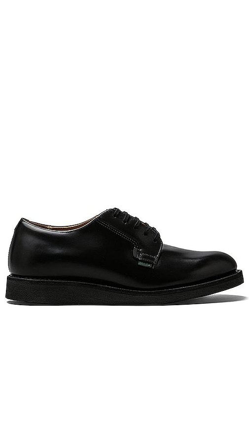 Red Wing Shoes Postman Oxford in Black
