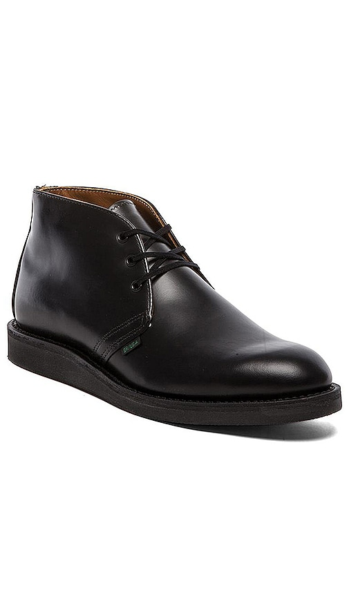 Red Wing Shoes Postman Chukka in Black